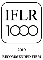 IFLR 1000 - 2019 - Recommended firm